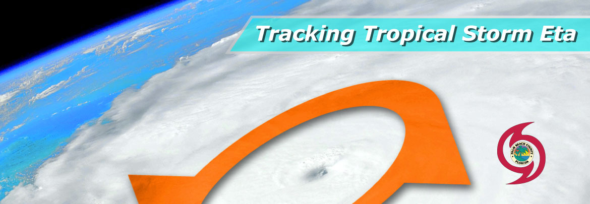 Tracking Storm, Hurricane banner