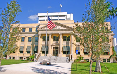 The restored courthouse opened in 2008 and is home to the Richard and Pat Johnson Palm Beach County History Museum.