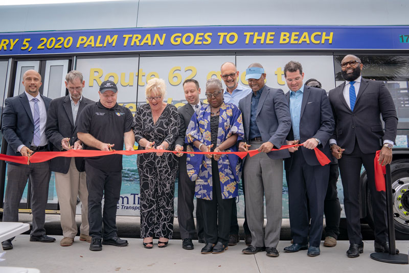 Palm Tran Starts New Route