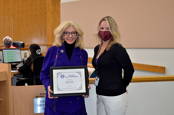 Commissioner Sachs Earns NOW Award