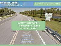 Western Communities Transportation Update