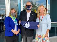 Palm Beach County Food Bank Ribbon Cutting