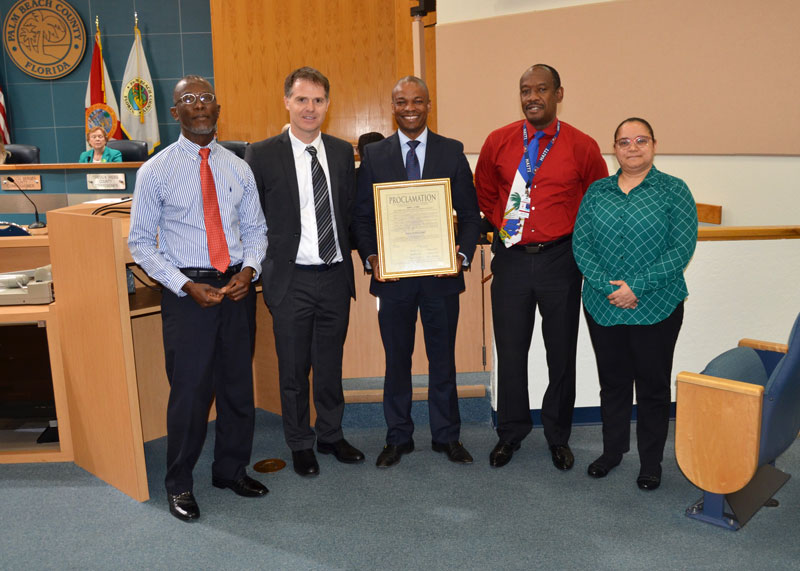 Haitian Heritage Month Proclamation