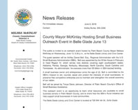 Mayor McKinlay Hosting Small Business Outreach