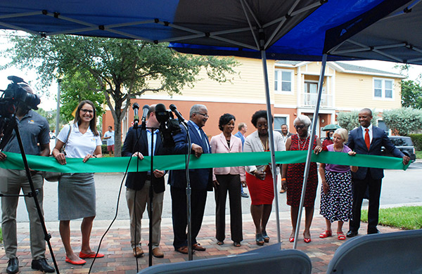 Ribbon Cutting Ceremony at Merry Place Estates