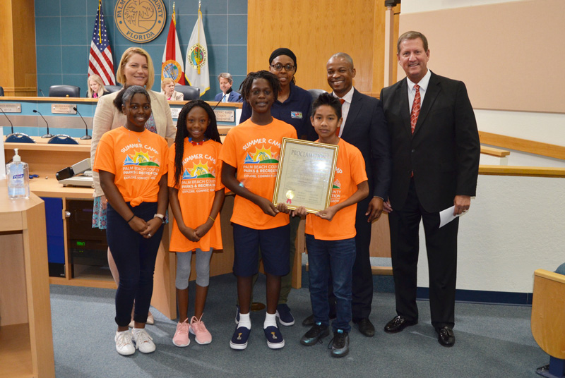 Parks and Recreation Month proclamation