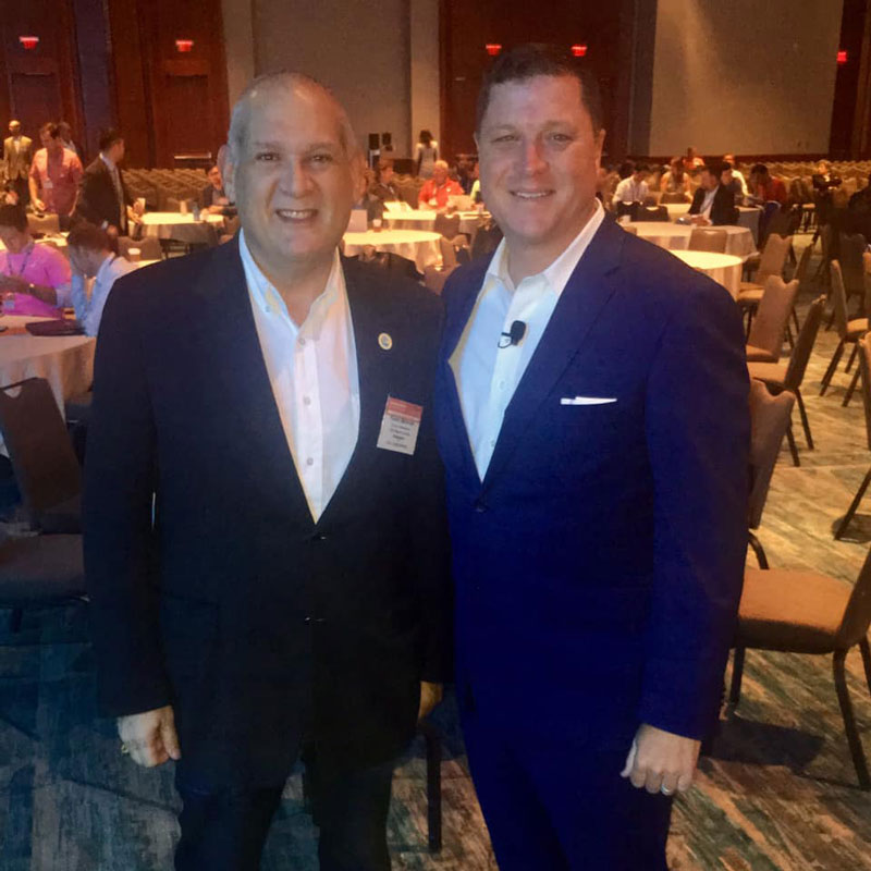 Commission Weinroth and Florida State Senator Jeff Brandes