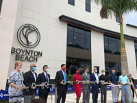 Boynton Beach City Hall Ribbon Cutting