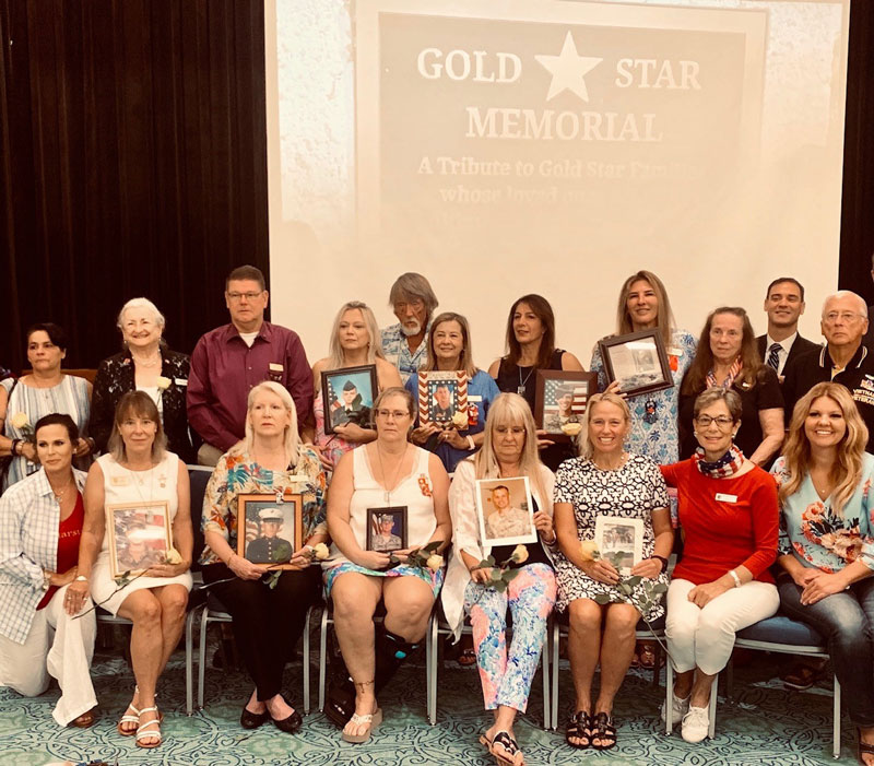 Distric 1 - Gold Star Families Honored