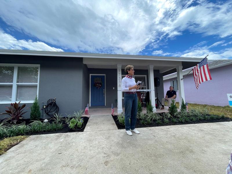 Habitat Helps Veteran Build New Home