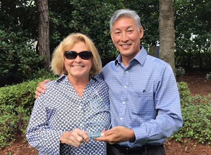 Special Projects Manager Carol Thompson and Principal Planner Alan Chin Lee