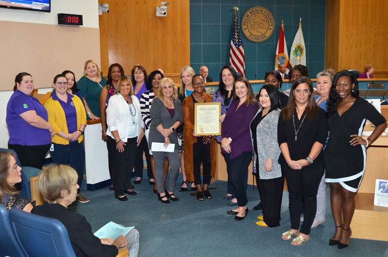 Domestic Violence Prevention Month Proclamation Ceremony
