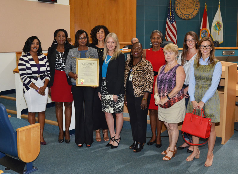 Infant Mortality Awareness Month Proclamation Ceremony