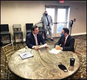 County Mayor and Florida Governor