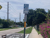 Palm Tran Completes Bus Pull-Offs Outside of West Palm Beach Facility