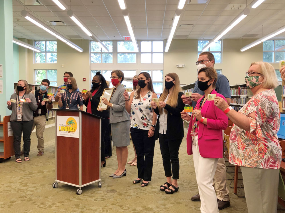 District 1 - Lifelong Learning Happens at the Library