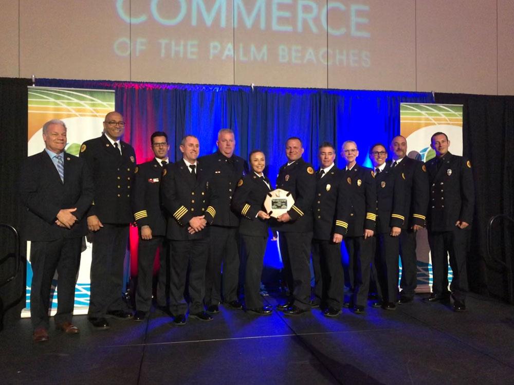 Firefighter Breakfast Honors Boca Station 57