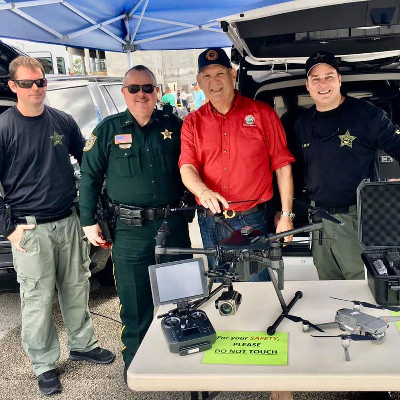Fire Rescue 35th Anniversary Event