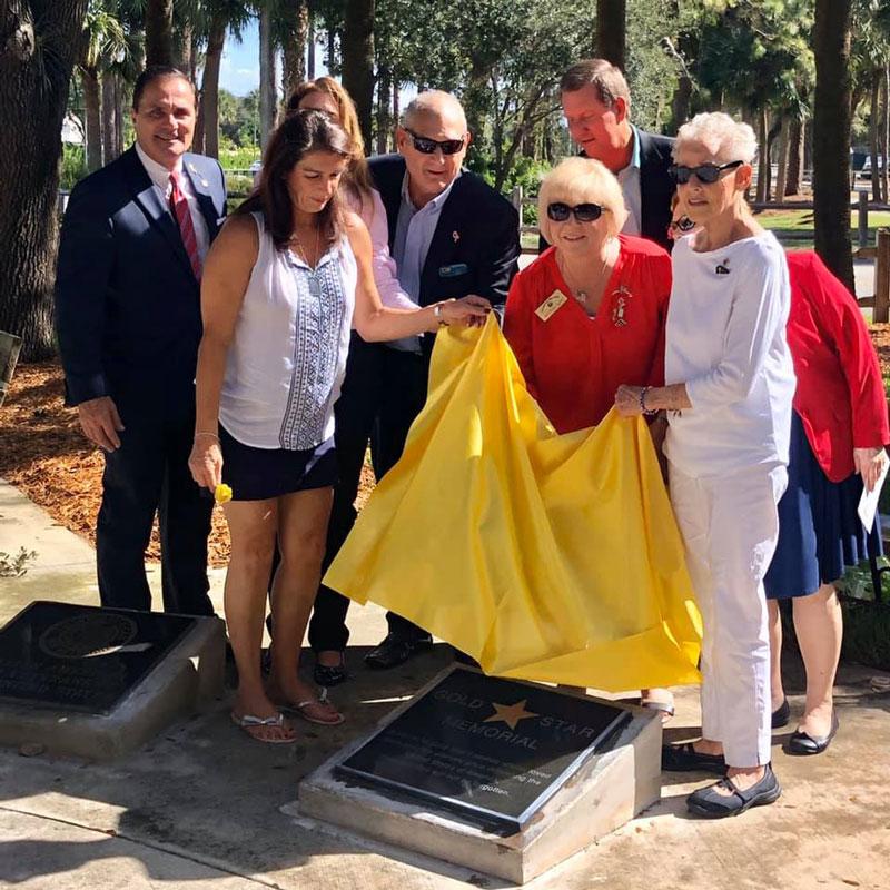 Gold Star Memorial Dedication