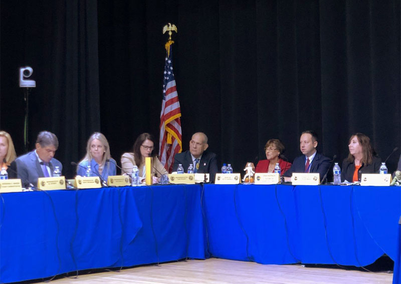 joint Meeting of County Commissioners and State Legislators