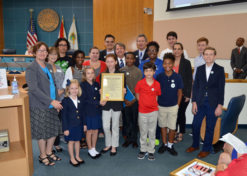 National 4-H Week Proclamation Ceremony