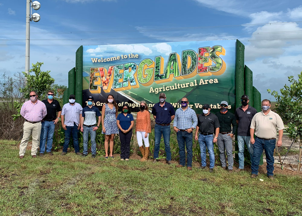 The Glades Region Unveils New Welcome Sign – Postcard Perfect