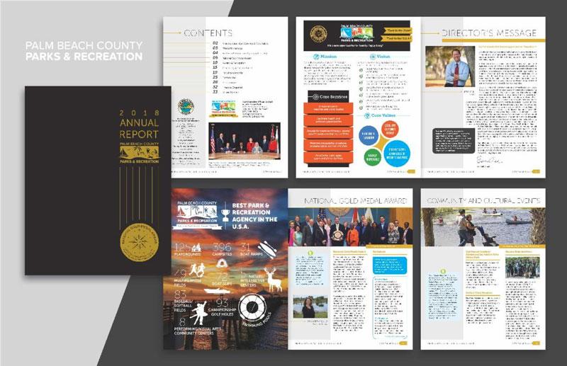 Parks Report wins Health Wellness Design Award