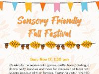 Sensory Friendly Fall Festival