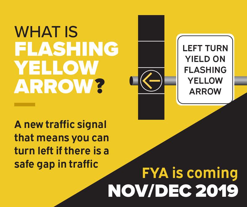 Flashing Yellow Arrow