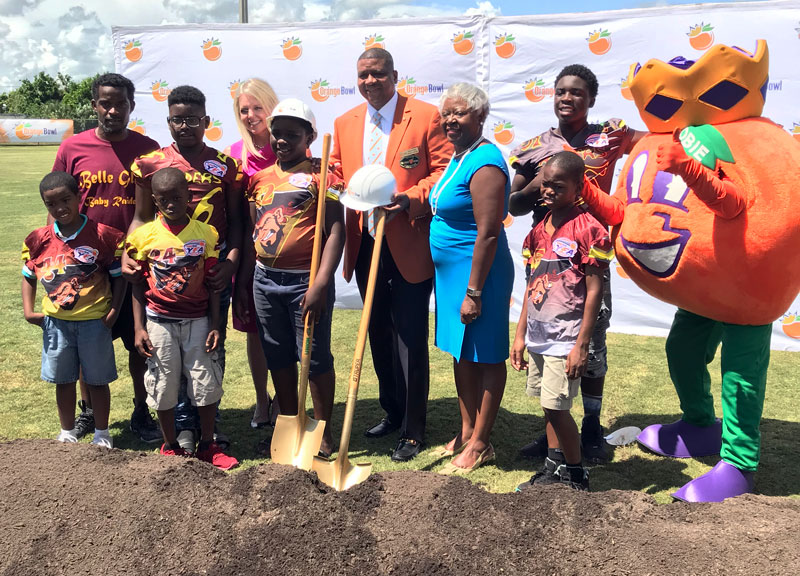 Grand Opening of Orange Bowl