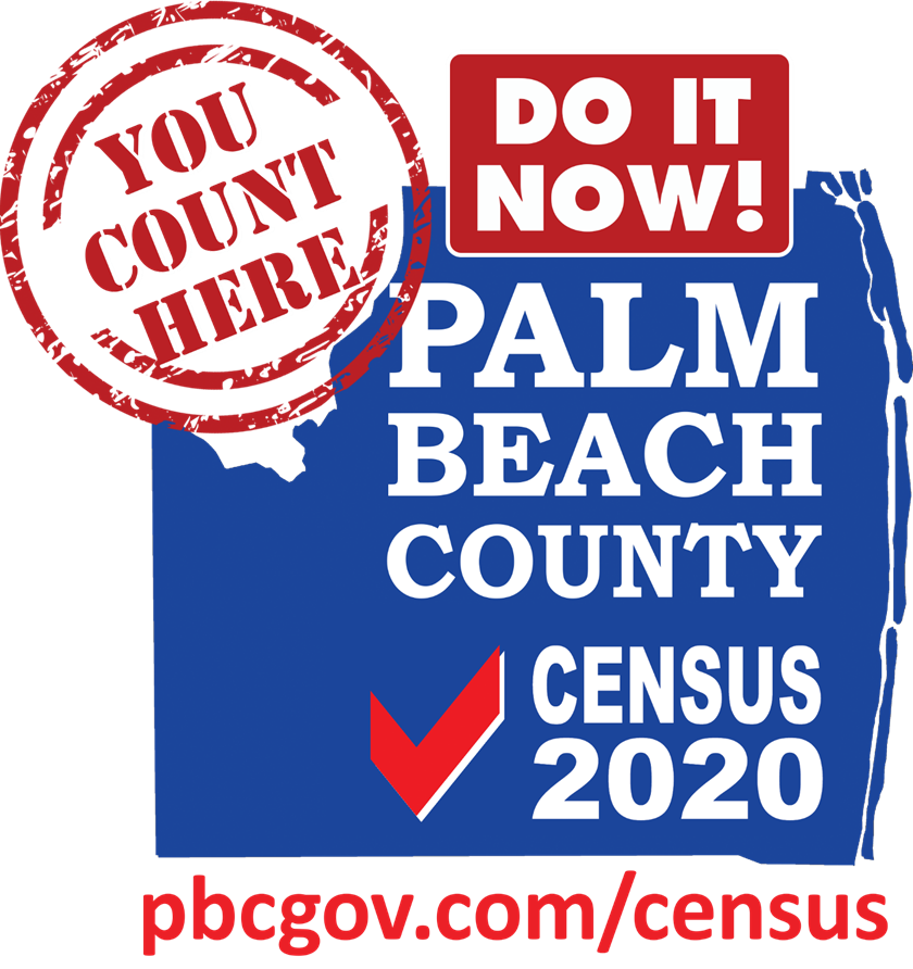 Counting Palm Beach County on Census 2020
