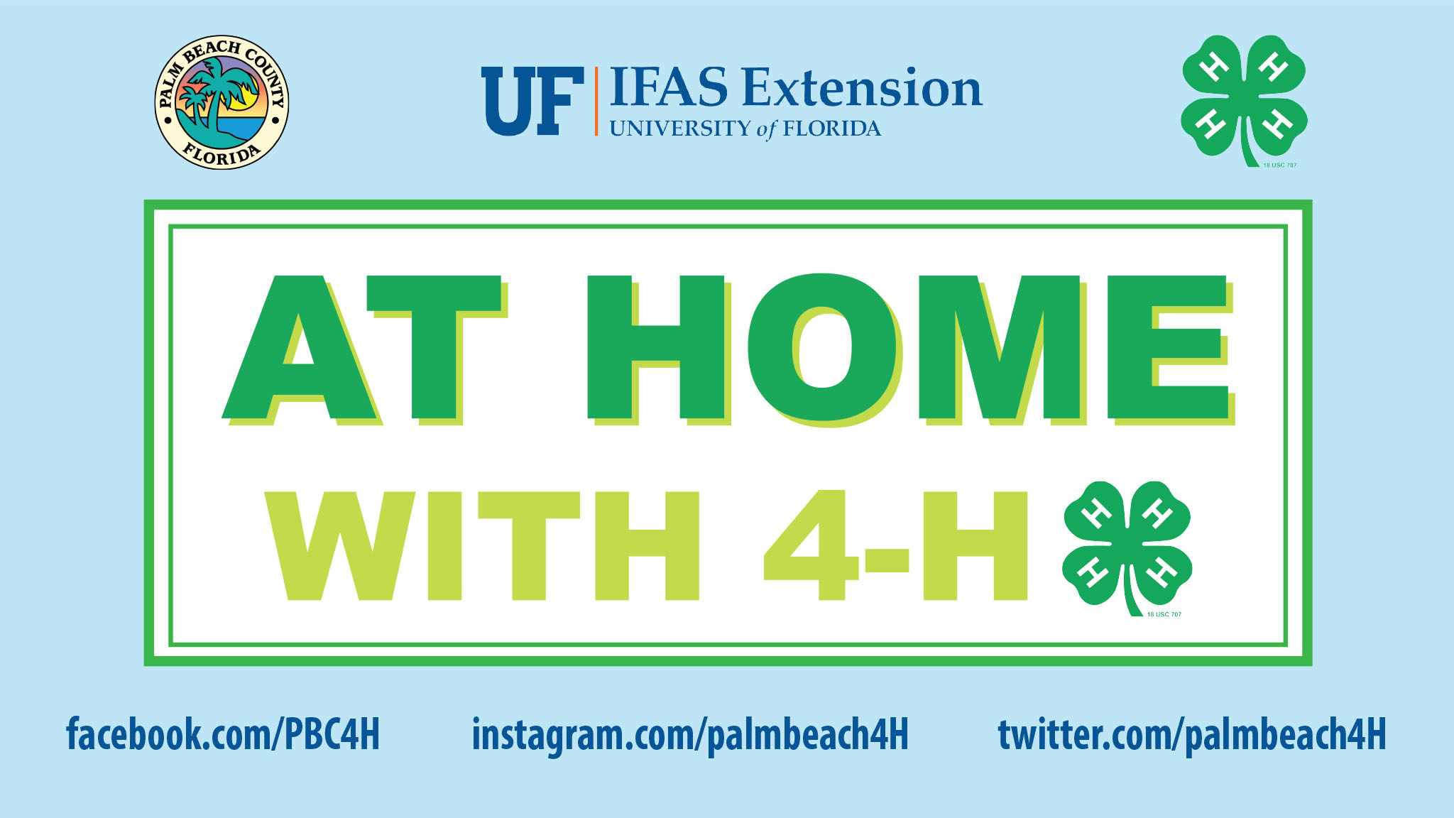 At Home with 4-H