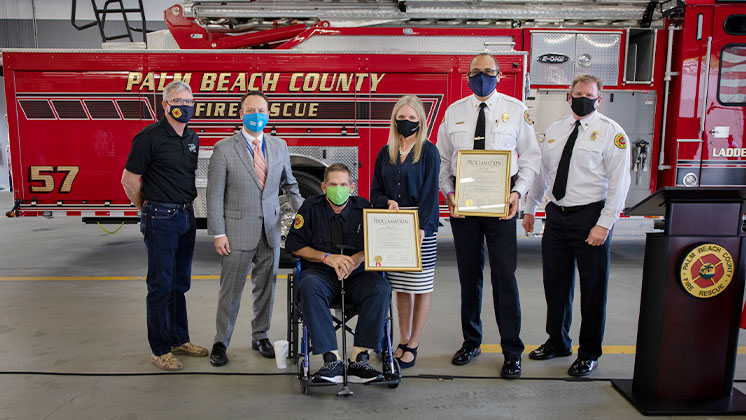 Firefighter Cancer Awareness Proclamation