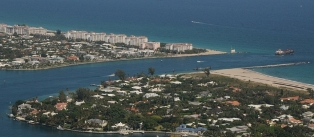 Aerial Picture of Lake Worth (Palm Beach) Inlet