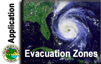 Evacuation Zone Application