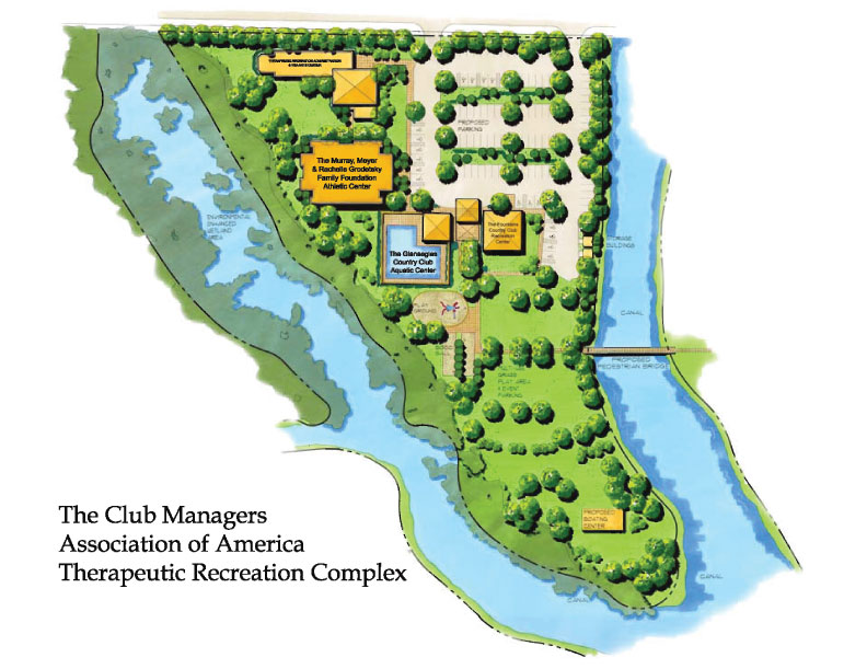 Therapeutic Recreation Site Layout