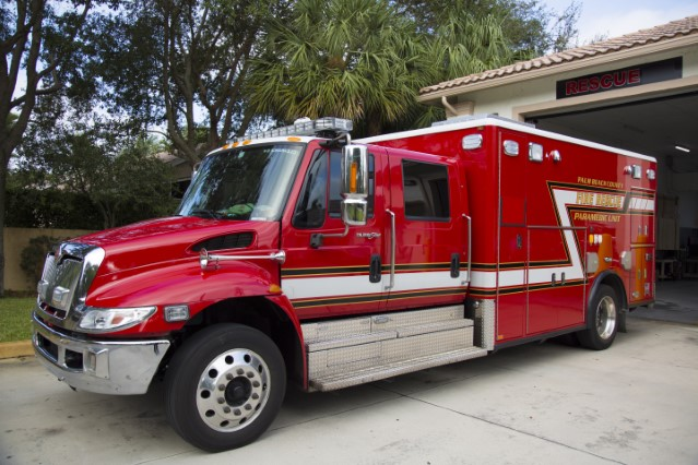 Type of unit: Rescue Station: 16 Year Built: 2016 Manufacturer: Horton