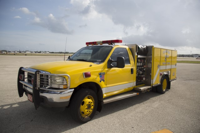 Type of Unit: Airport Lieutenant  Station:  81  Year Built:  2001  Manufacturer:  Ford/Ferrara  Chassis:  F550 Minipumper  Pump Rate:  gallons per minute   Foam Capacity:  15 gallons