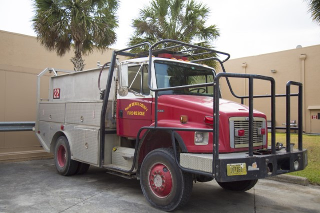 Type of Unit:  Brush Station:  22 Year Built:  2002 Manufacturer:  Ferrara Chassis:  Freightliner FL-80 Water Capacity:  750 gallons  Pump Rate:  500 gallons per minute