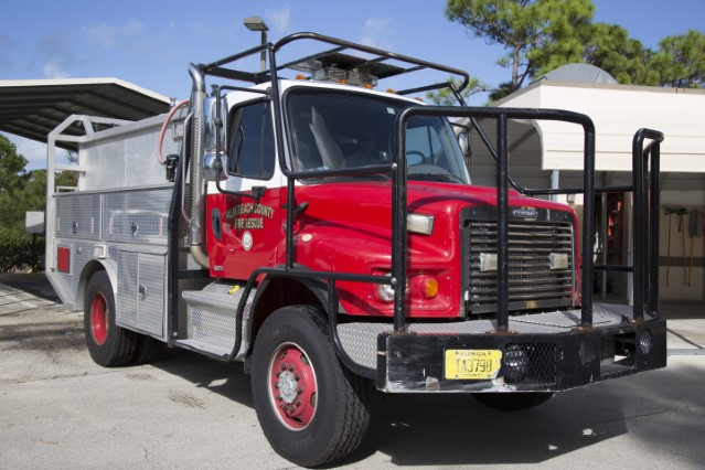 Type of Unit:  Brush Station:  26 Year Built:  2007 Manufacturer:  Ferrara Chassis:  Freightliner FL-80 Water Capacity:  750 gallons  Pump Rate:  500 gallons per minute