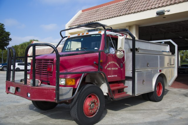 Type of Unit:  Brush  Station:  42  Year Built:  2002  Manufacturer:  Ferrara  Chassis:  International 4x4  Water Capacity:  750 gallons   Pump Rate:  500 gallons per minute
