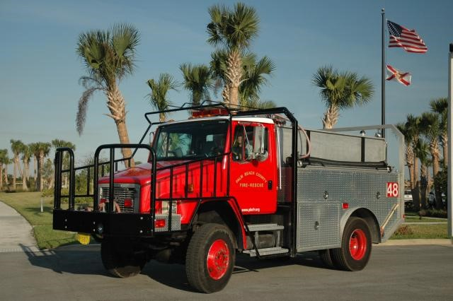 Type of Unit: Brush  Station:  48  Year Built:  1998  Manufacturer:  3D  Chassis:  Freightliner 4x4  Water Capacity:  750 gallons   Pump Rate:  500 gallons per minute