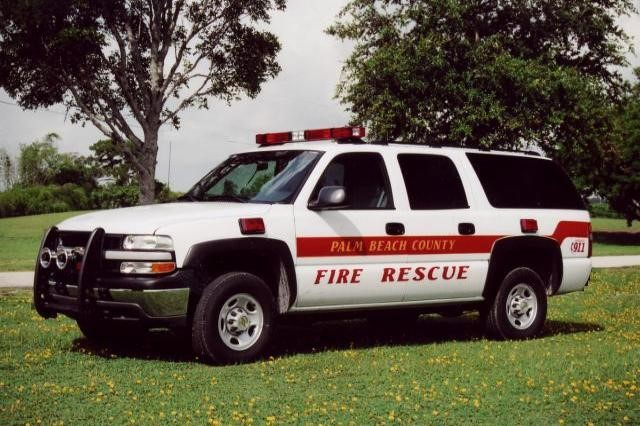 Type of Unit:  District Chief  Station:  34  Year Built:  2013  Manufacturer:  Ford  Chassis:  Suburban