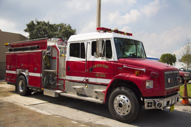 Type of Unit:  Engine Station:  22 Year Built:  2003 Manufacturer:  Ferrara Chassis:  Freightliner FL-80 Water Capacity:  750 gallons  Pump Rate:  2250 gallons per minute  Foam Capacity:  15 gallons
