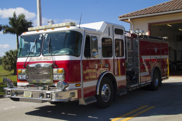 Type of Unit:  Engine Station:  27 Year Built:  2006 Manufacturer:  E-One Chassis:  Typhoon Water Capacity:  750 gallons  Pump Rate:  1250 gallons per minute  Foam Capacity:  30 gallons