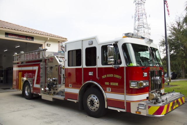 Type of Unit:  Engine Station:  41 Year Built:  2012 Manufacturer:  Sutphen Chassis:  Freightliner FL-80 M2 Water Capacity:  750 gallons  Pump Rate:  1250 gallons per minute  Foam Capacity:  15 gallons