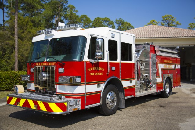 Type of Unit:  Engine Station:  43 Year Built:  2004 Manufacturer:  Ferrara Chassis:  Freightliner FL-80 Water Capacity:  750 gallons  Pump Rate:  1250 gallons per minute  Foam Capacity:  15 gallons