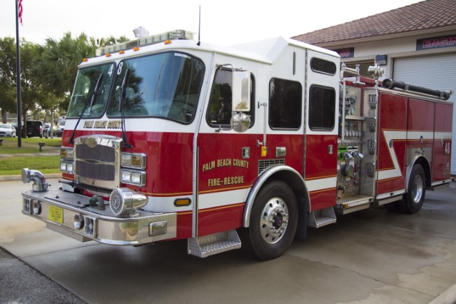 Type of Unit: Engine  Station: 48  Year Built:  2006  Manufacturer:  E-One  Chassis:  Typhoon  Water Capacity:  750 gallons   Pump Rate:  1250 gallons per minute   Foam Capacity:  30 gallons