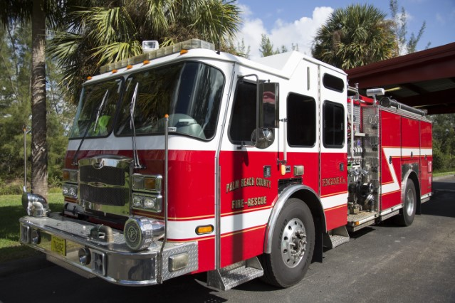 Type of Unit: Engine  Station: 73  Year Built: 2006  Manufacturer:  E-One  Chassis:  Typhoon Custom Cab  Water Capacity:  750 gallons   Pump Rate:  1250 gallons per minute   Foam Capacity:  15 gallons