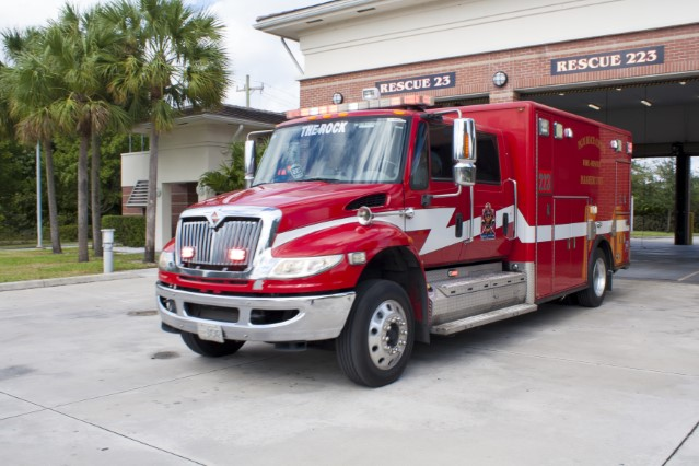 Type of Unit:  Rescue Station:  23 Year Built:  2010 Manufacturer:  Horton Chassis:  Freightliner M2